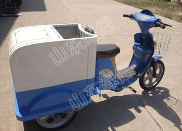 Electric Three-Wheeled Can Container Cleaning Car