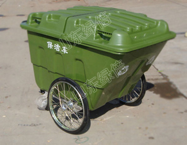 Plastic Garbage Bin Outdoor Waste Container