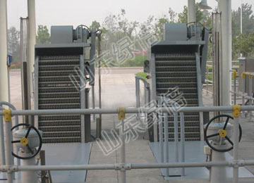 Rotary Mechanical Coarse Bar Screen