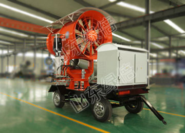 Mobile Wheeled Water Mist Dust Removal Fog Cannon