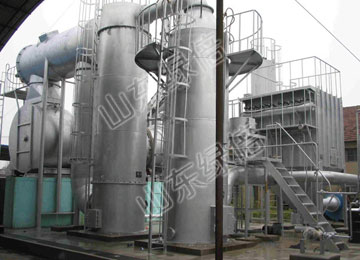 Industrial Refuse Treatment Incinerator