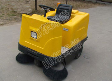 Electric Small Ride-On Floor Sweeper Machine