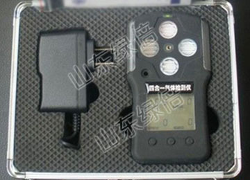 DM100 CH4 CO O2 H2S Four In One Gas Detector