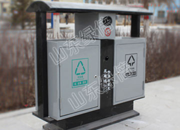 Stainless Steel Iron Outdoor Recycle Bin