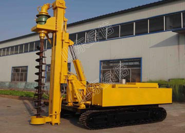 Solar Project Screw Pile Driver