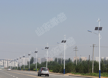 LED Scenery Complementary Solar Street Light