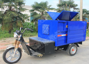 Electrical Garbage Dumping Tricycle