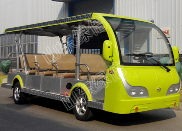 14 Seats Solar Powered Electric Car