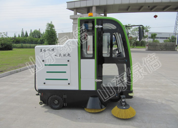 LB-2000 Fully Enclosed Sweeping Machine