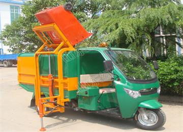 Electric Waste Truck Container Garbage Truck