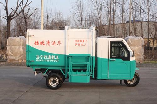 Three professional knowledge of electric sanitary garbage truck overhaul