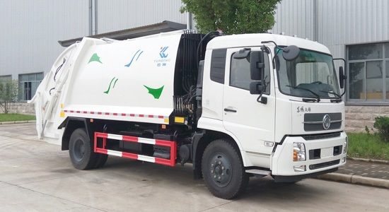How to prevent the rust problem of sanitary garbage truck in spring?